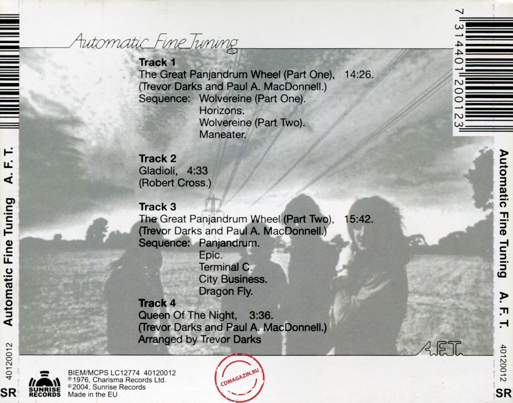 Audio CD: A. F. T. (1976) Automatic Fine Tuning
