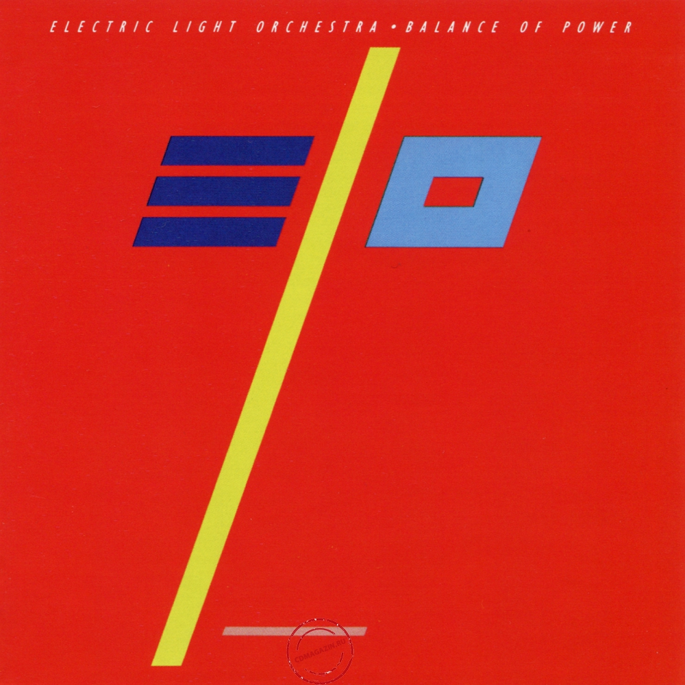 Audio CD: Electric Light Orchestra (1986) Balance Of Power