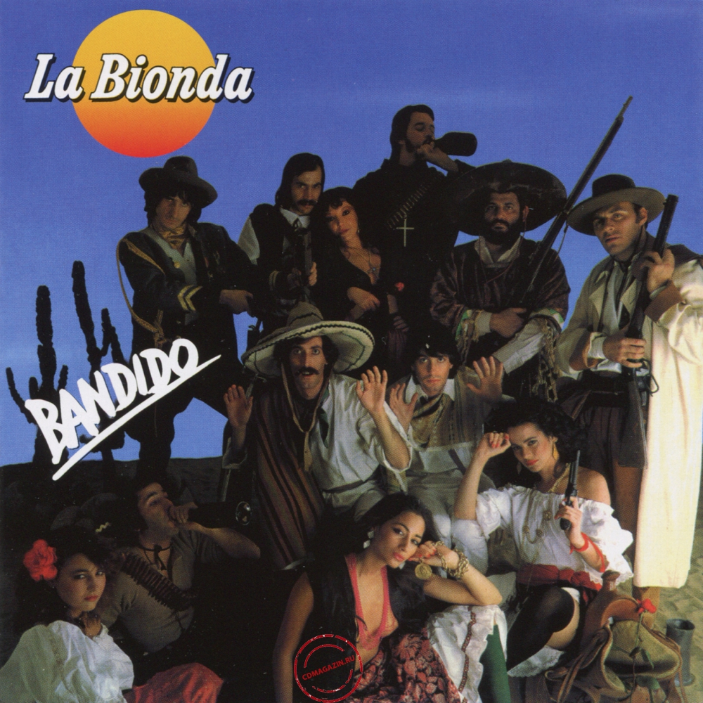 Audio CD: La Bionda (1978) Bandido