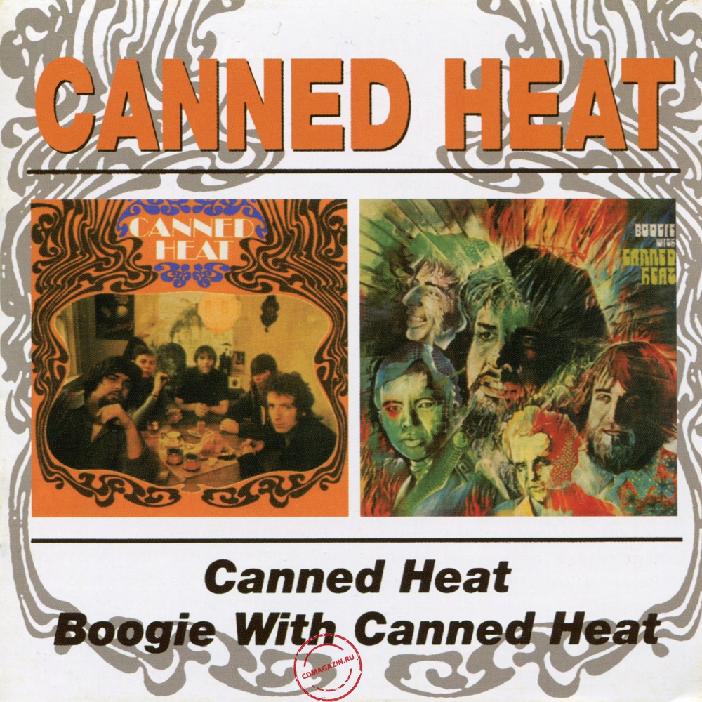 Audio CD: Canned Heat (1967) Canned Heat / Boogie With Canned Heat