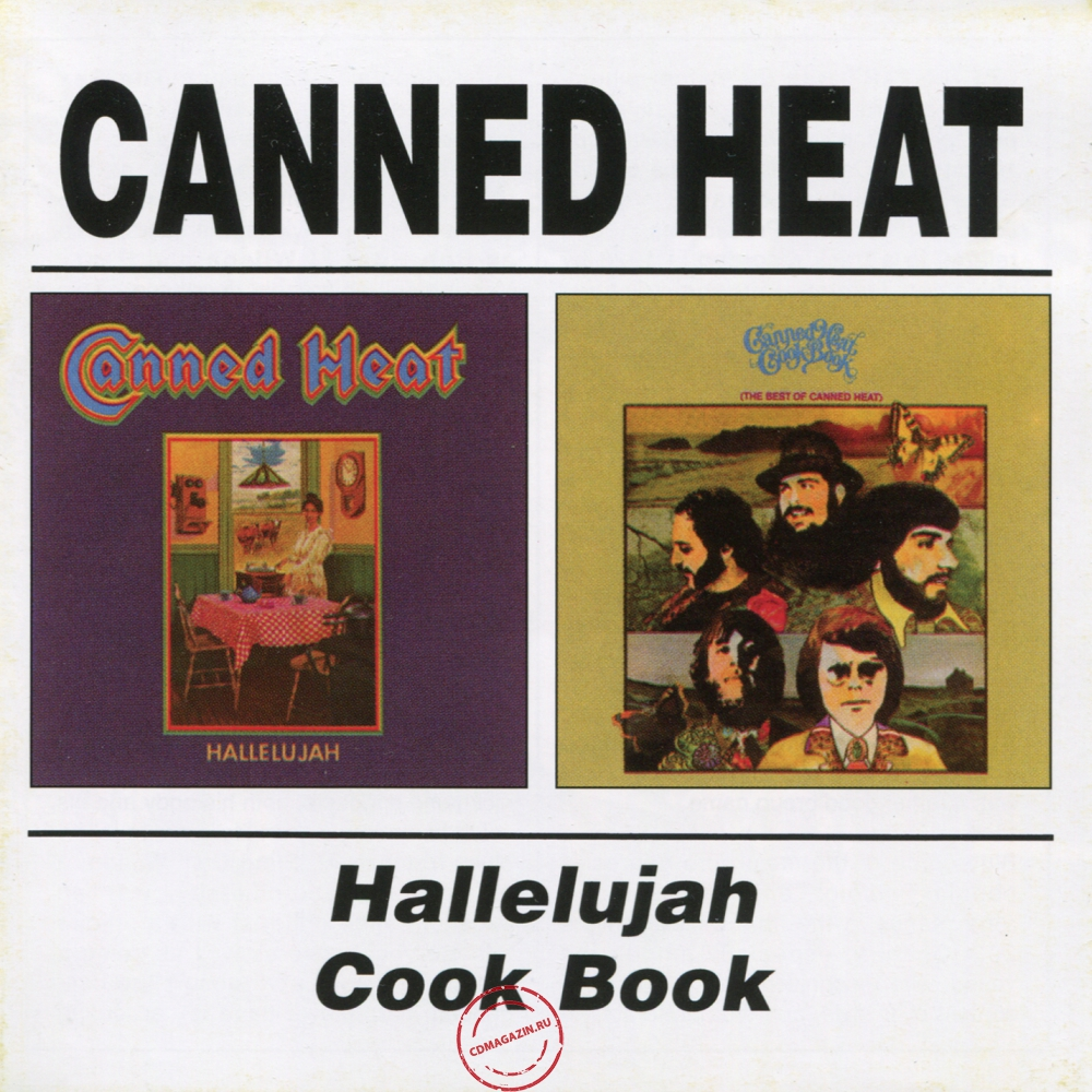 Audio CD: Canned Heat (1969) Hallelujah / Cook Book