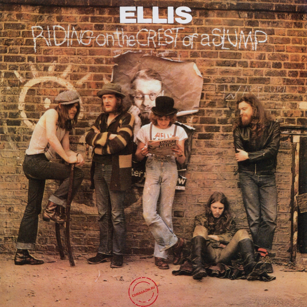 Audio CD: Ellis (6) (1972) Riding On The Crest Of A Slump