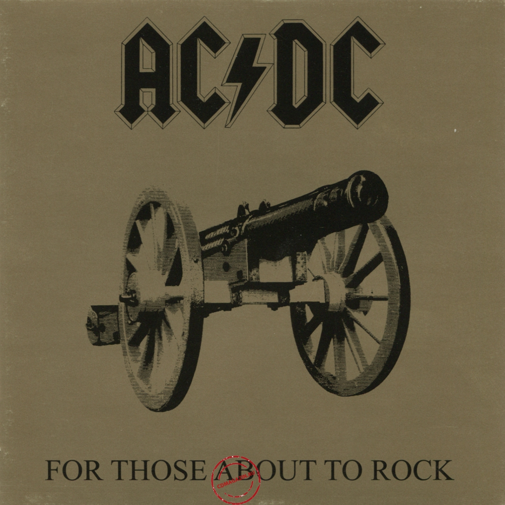 Audio CD: AC/DC (1981) For Those About To Rock We Salute You