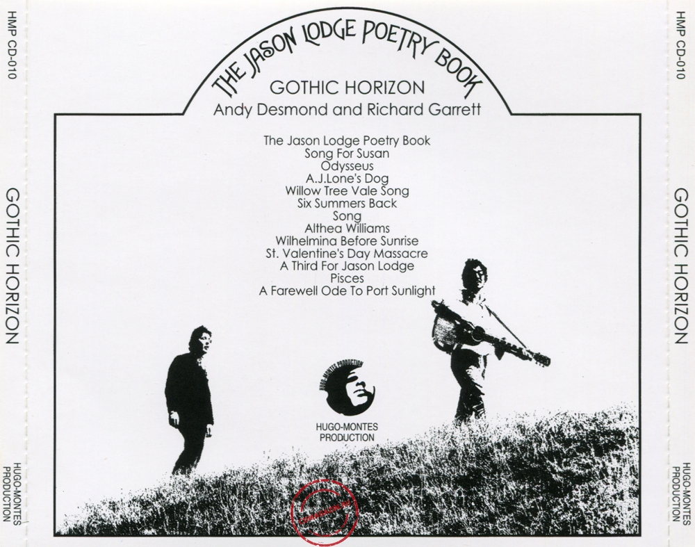 Audio CD: Gothic Horizon (1971) The Jason Lodge Poetry Book