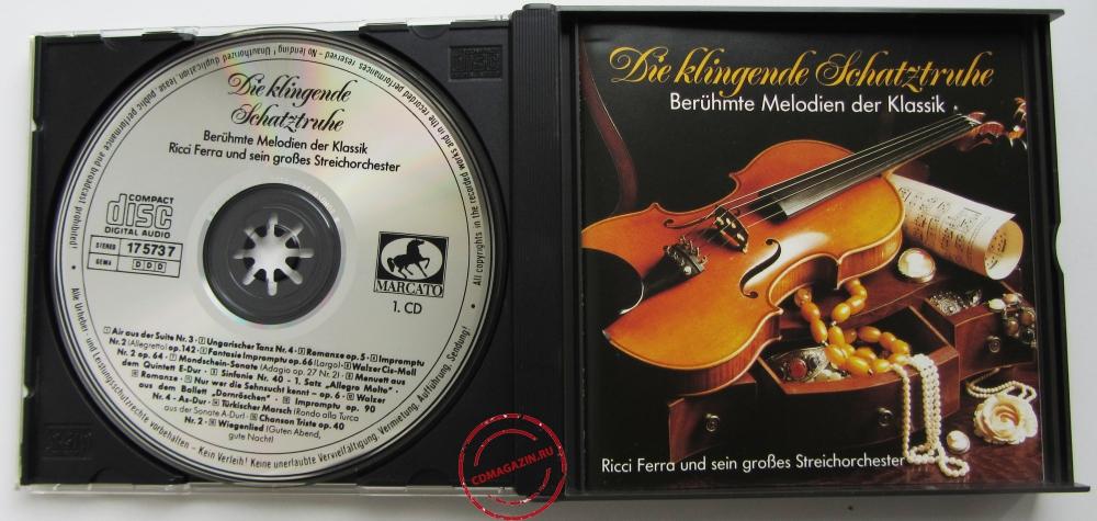 Audio CD: VA Die Klingende Schatztrube () Beruhmte Melodien Der Klassik