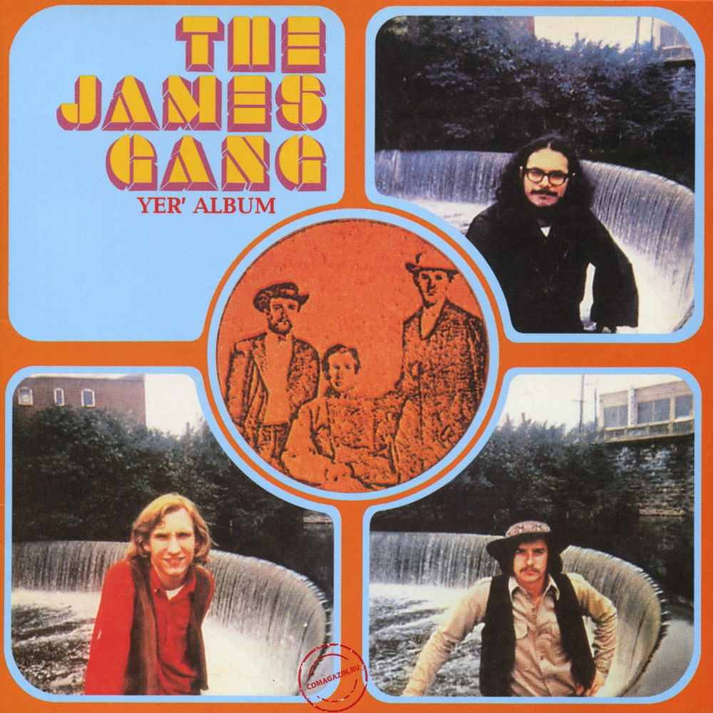 Audio CD: James Gang (1969) Yer' Album