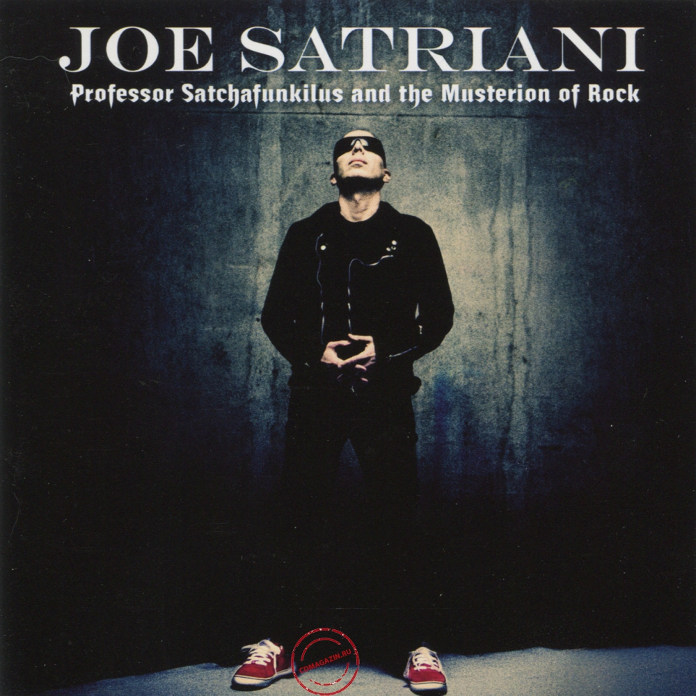 Audio CD: Joe Satriani (2008) Professor Satchafunkilus And The Musterion Of Rock