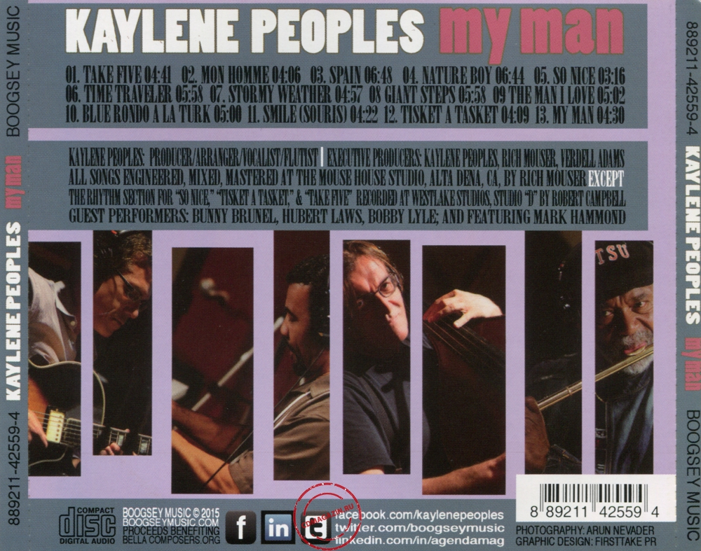 Audio CD: Kaylene Peoples (2015) My Man