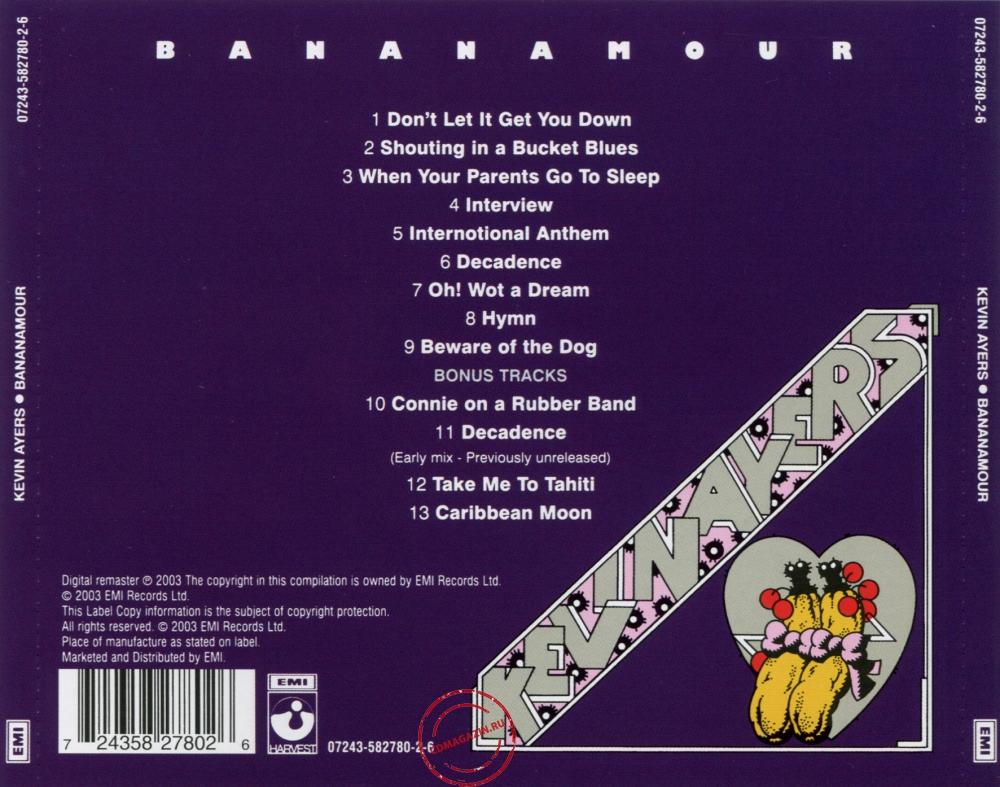 Audio CD: Kevin Ayers (1973) Bananamour