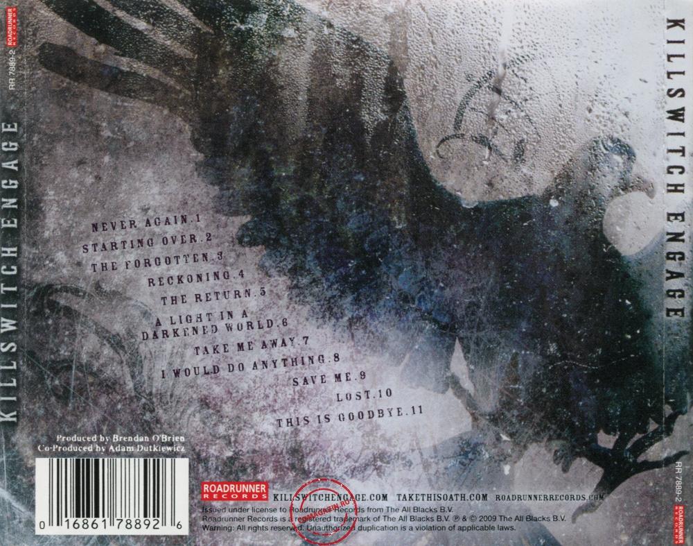 Audio CD: Killswitch Engage (2009) Killswitch Engage