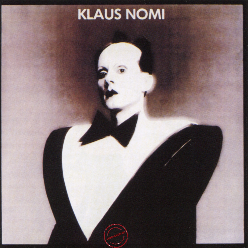 Audio CD: Klaus Nomi (1981) Klaus Nomi