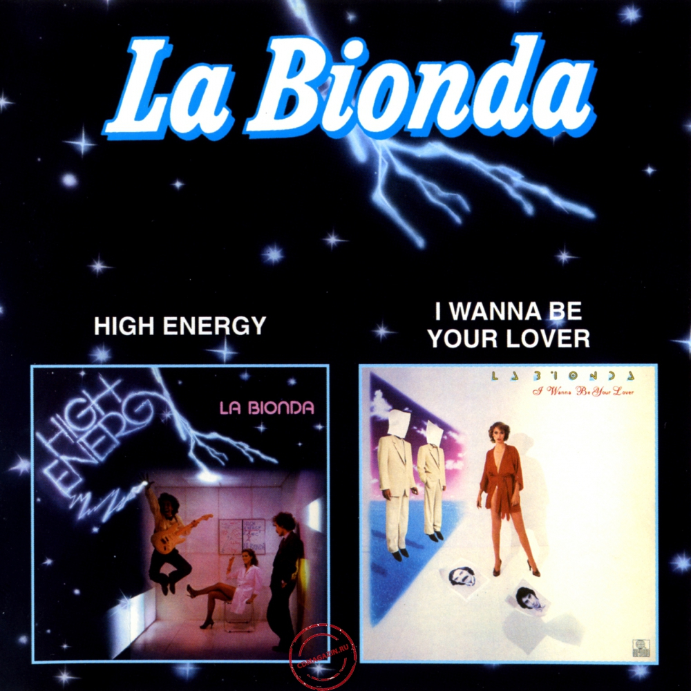 Audio CD: La Bionda (1979) High Energy / I Wanna Be Your Lover