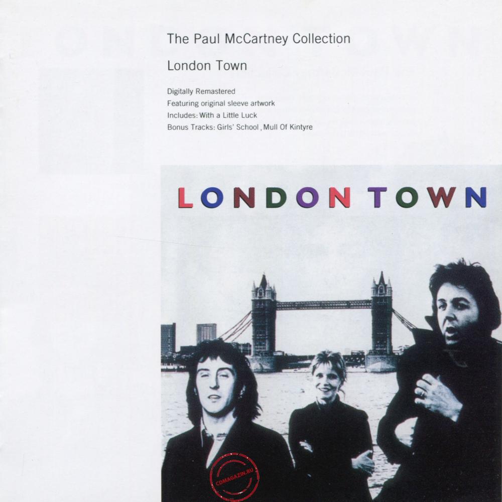 Audio CD: Paul McCartney (1978) London Town