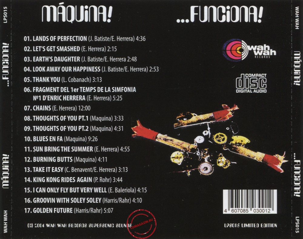 Audio CD: Maquina (2004) ...Funciona!