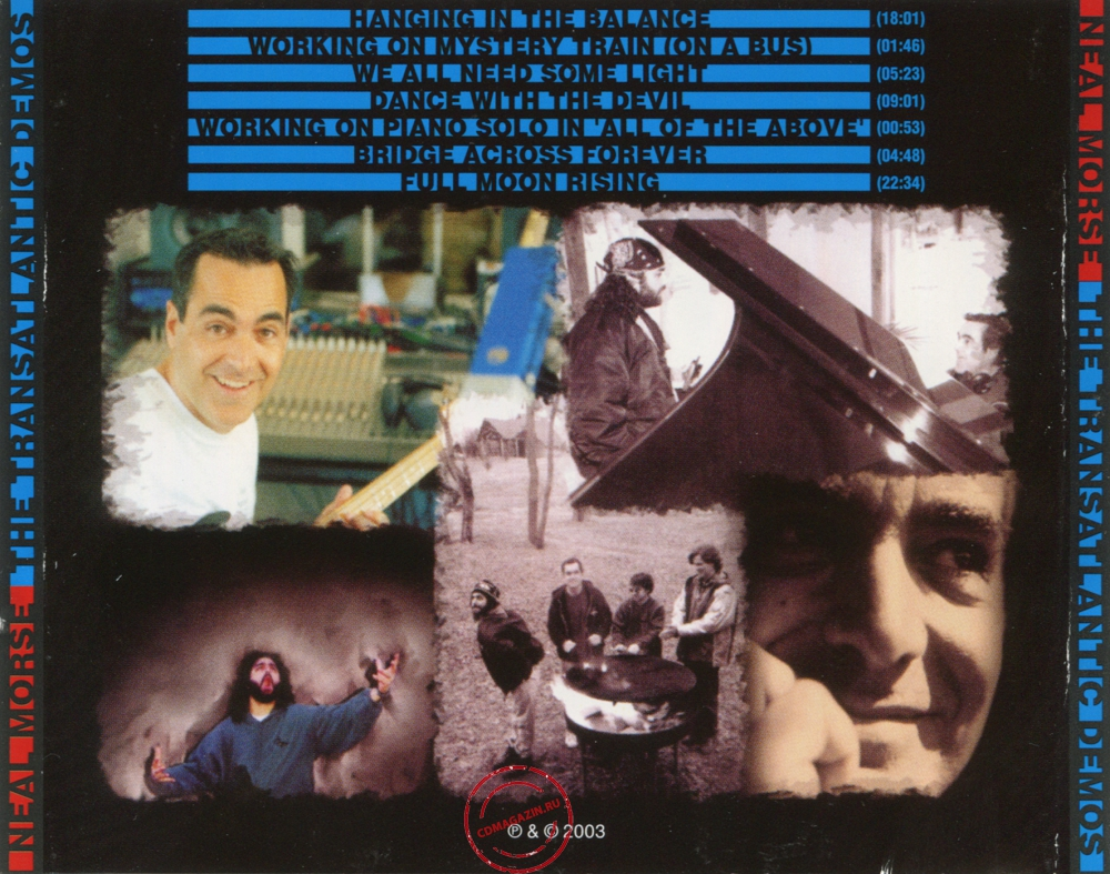 Audio CD: Neal Morse (2003) The Transatlantic Demos