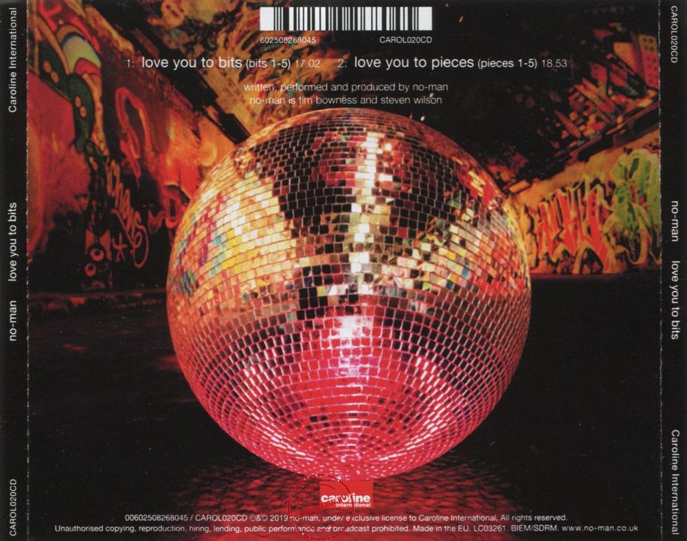 Audio CD: No-Man (2019) Love You To Bits