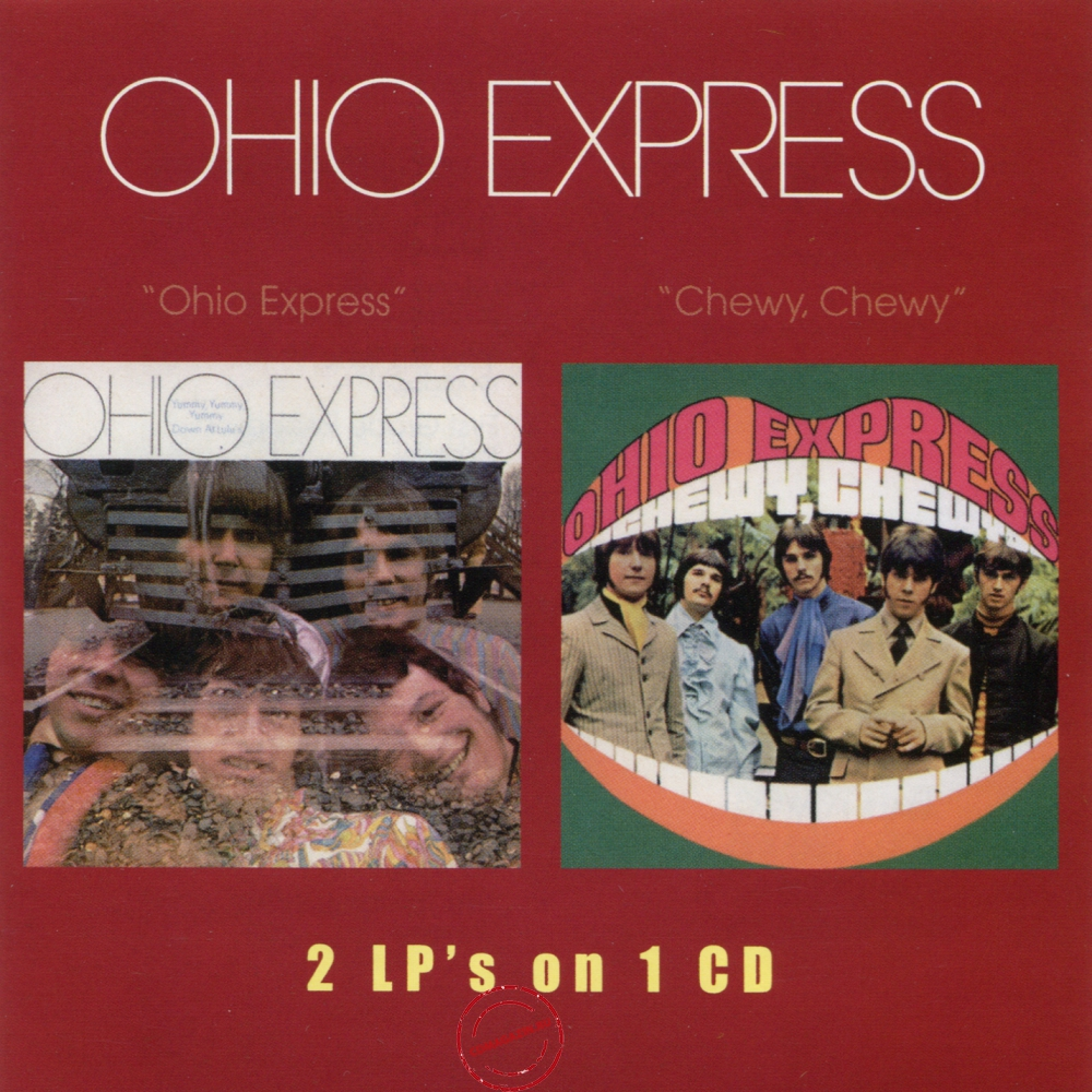 Audio CD: Ohio Express (1968) Ohio Express / Chewy, Chewy