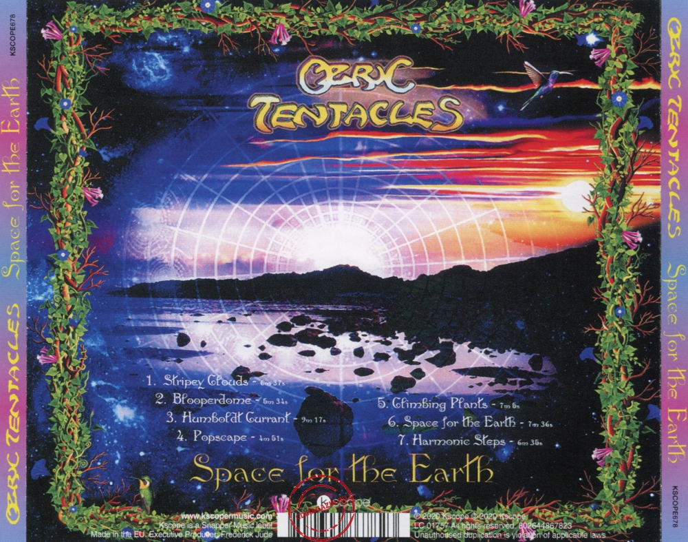 Audio CD: Ozric Tentacles (2020) Space For The Earth