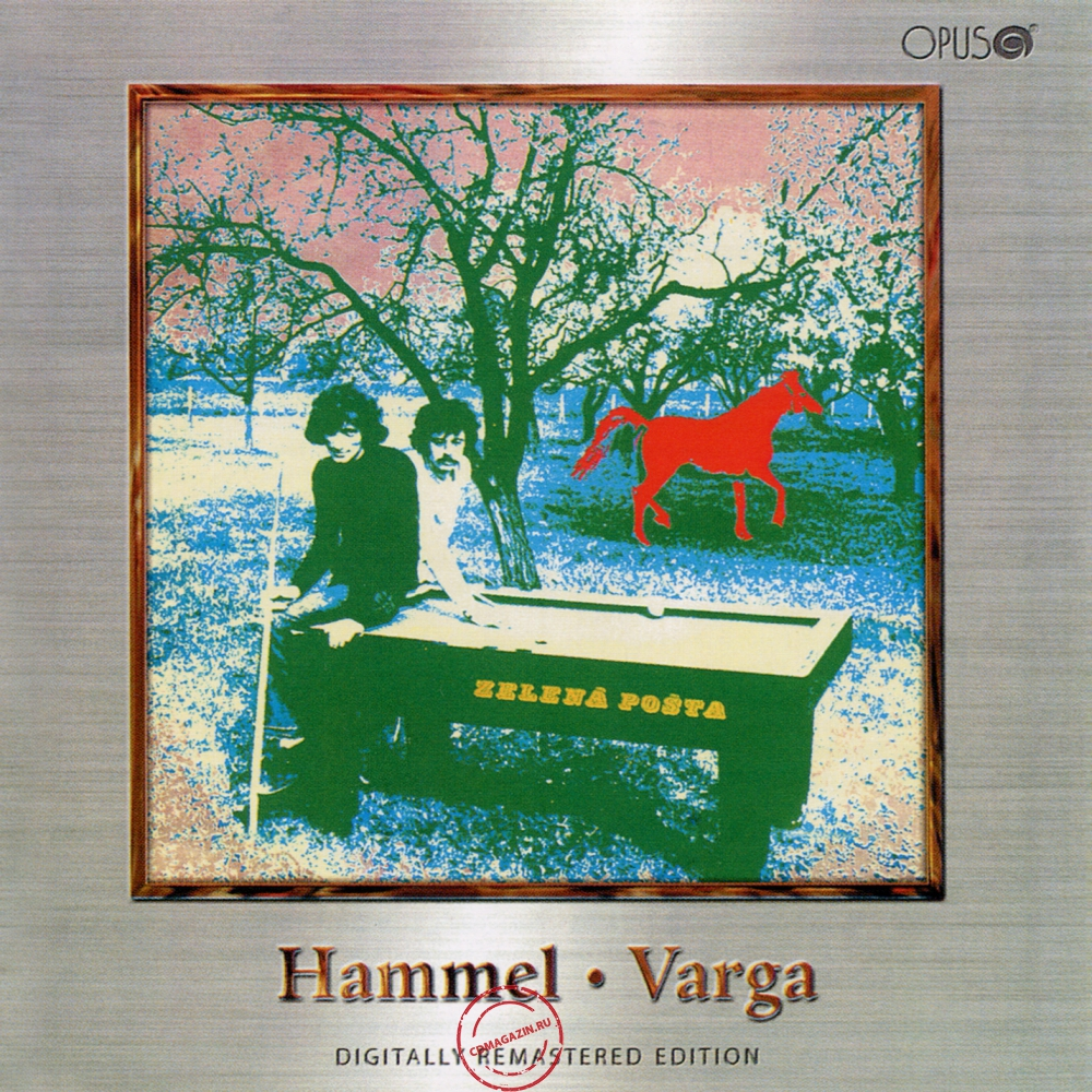 Audio CD: Hammel ● Varga (1972) Zelená Pošta
