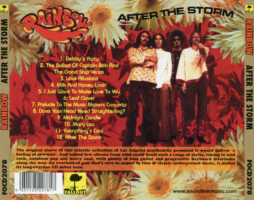 Audio CD: Rainbow (1) (1968) After The Storm