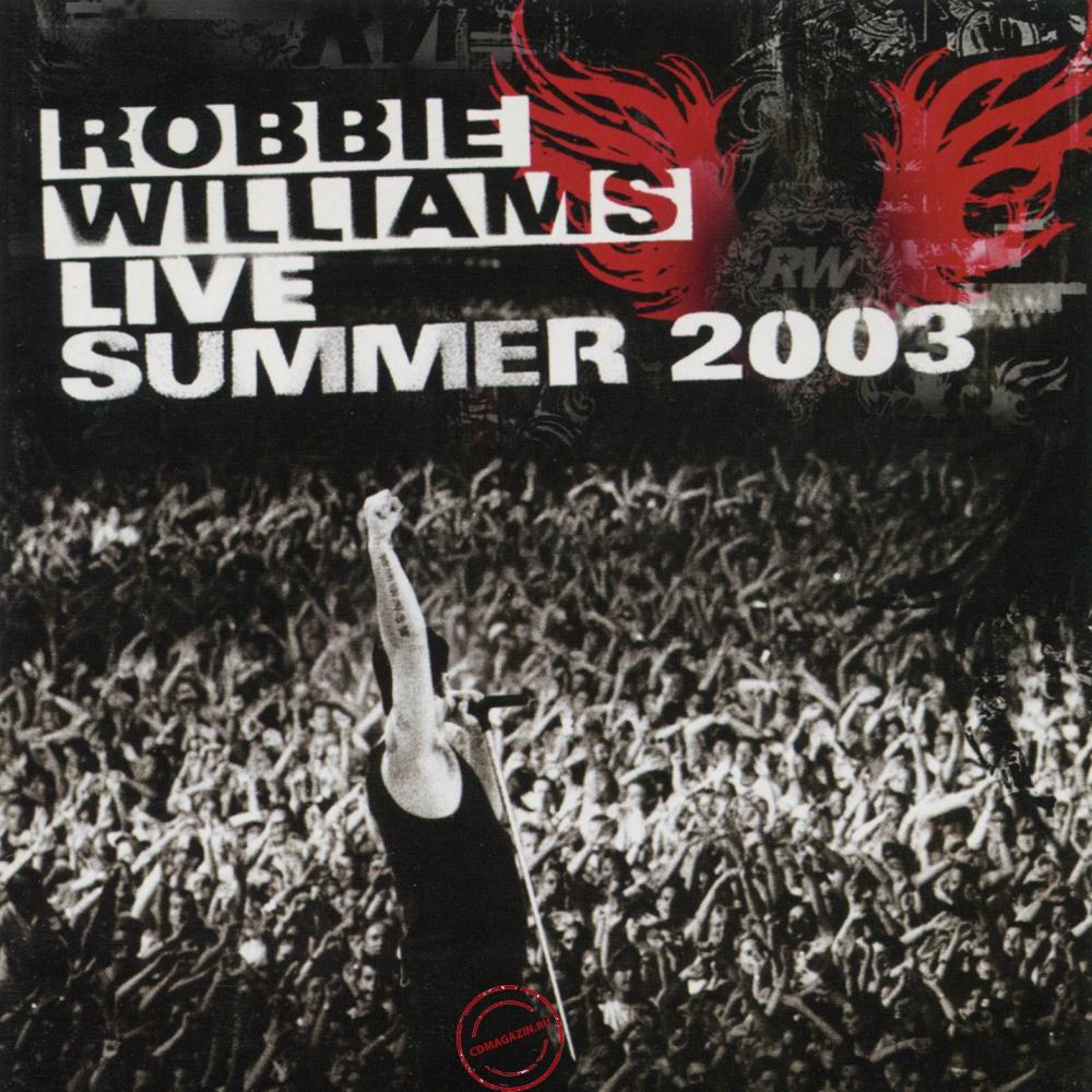 Audio CD: Robbie Williams (2003) Live Summer 2003