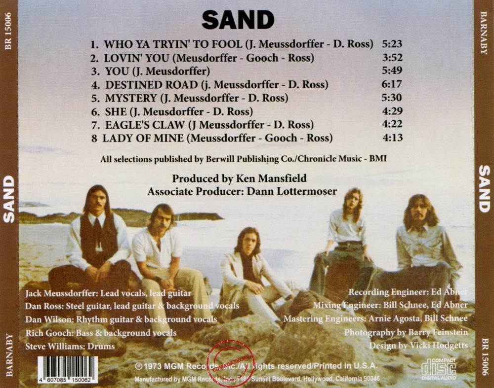Audio CD: Sand (10) (1973) Sand
