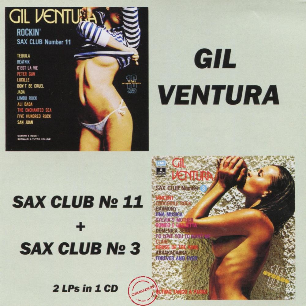 Audio CD: Gil Ventura (1975) Sax Club Number 11 Rockin' + Sax Club Number 3