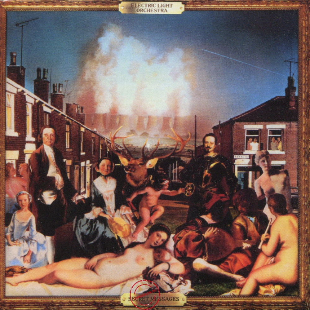 Audio CD: Electric Light Orchestra (1983) Secret Messages