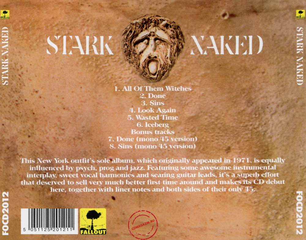 Audio CD: Stark Naked (1971) Stark Naked