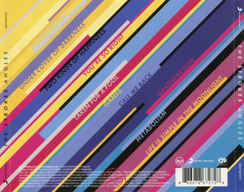 Audio CD: Strokes (2011) Angles
