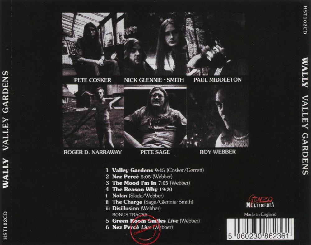 Audio CD: Wally (3) (1975) Valley Gardens