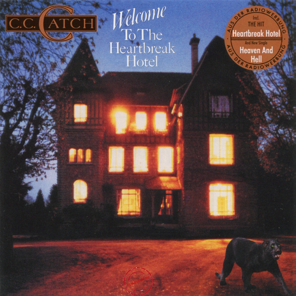 Audio CD: C.C.Catch (1986) Welcome To The Heartbreak Hotel