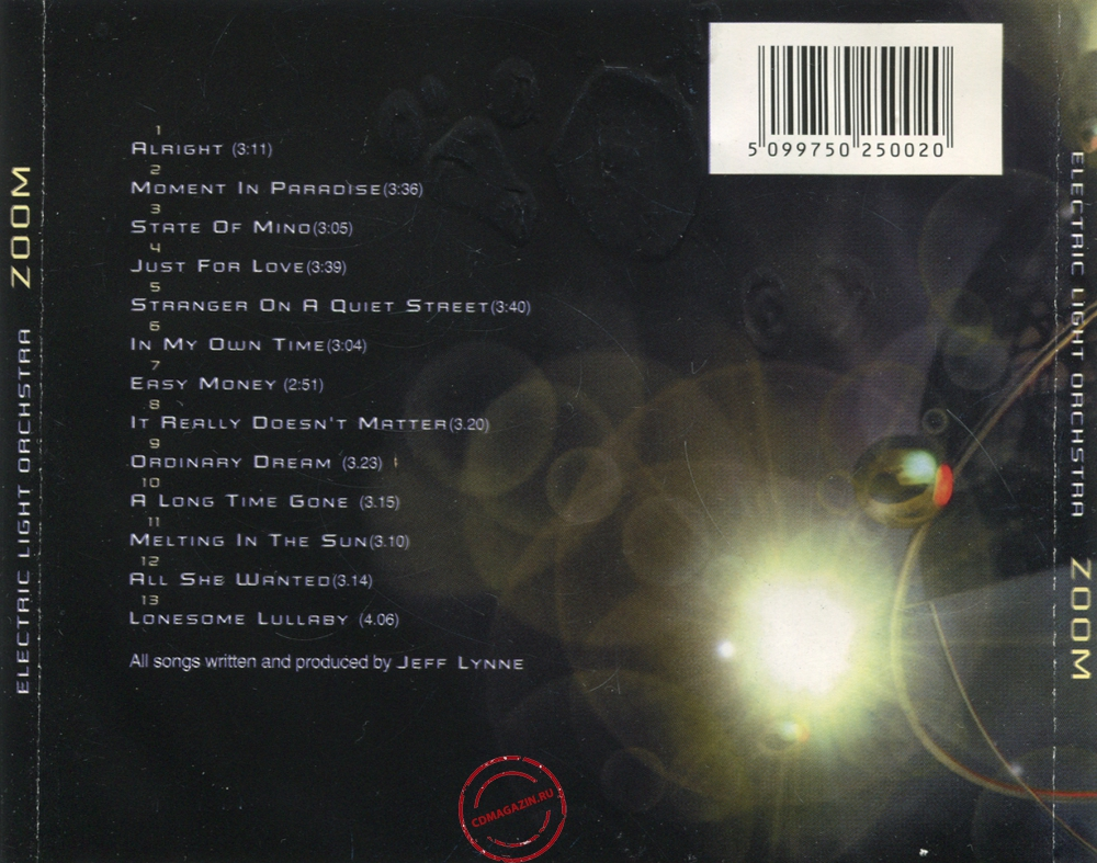 Audio CD: Electric Light Orchestra (2001) Zoom