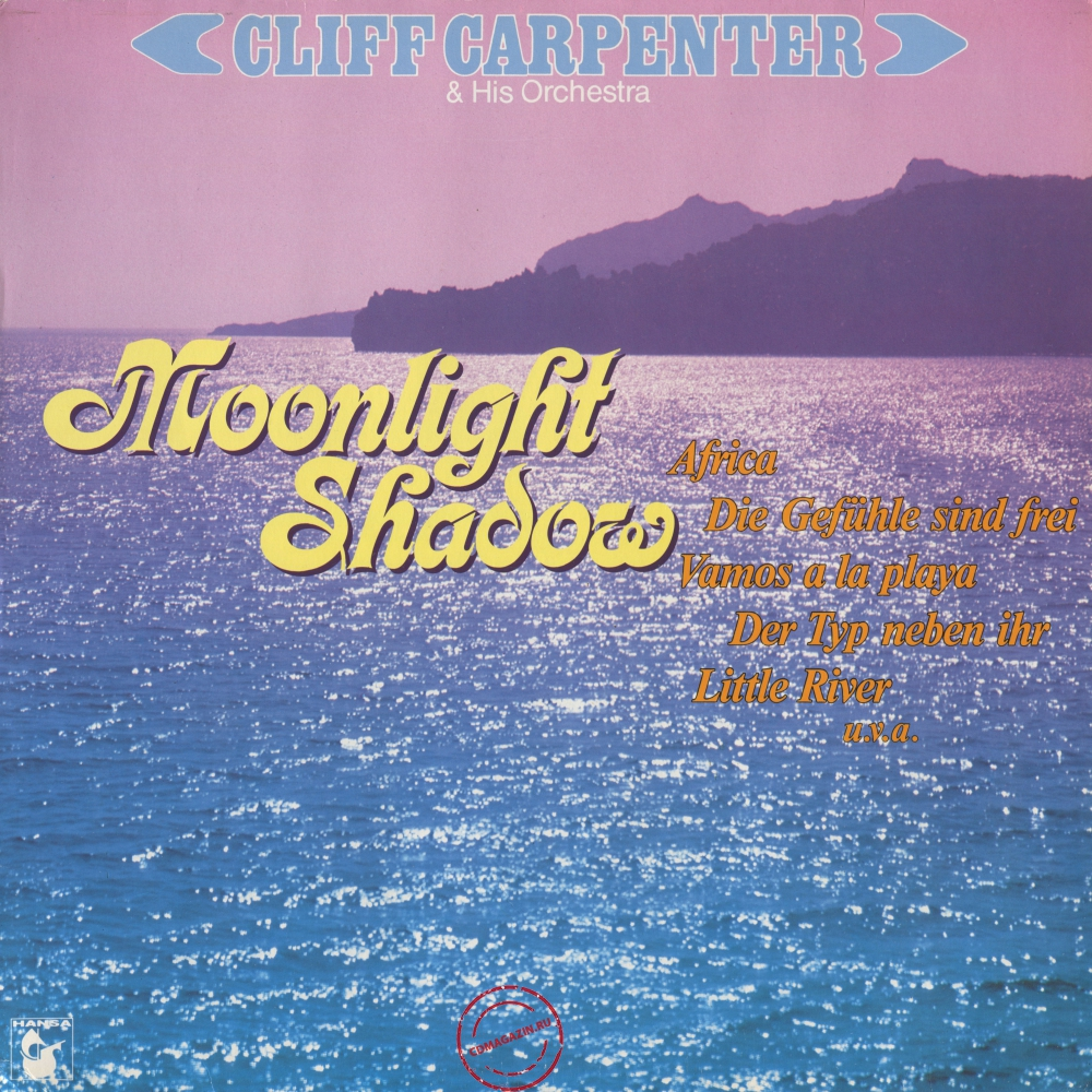 Оцифровка винила: Cliff Carpenter (1983) Moonlight Shadow