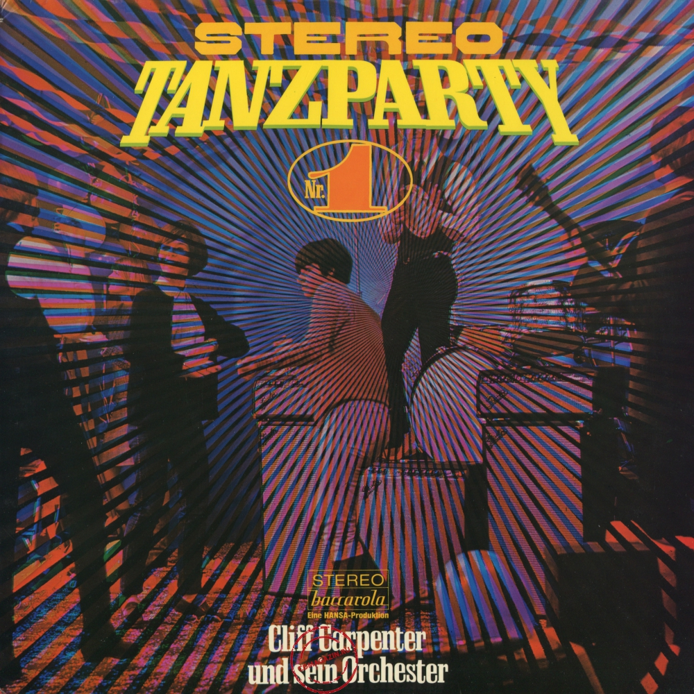 Оцифровка винила: Cliff Carpenter (1972) Stereo Tanzparty Nr. 1