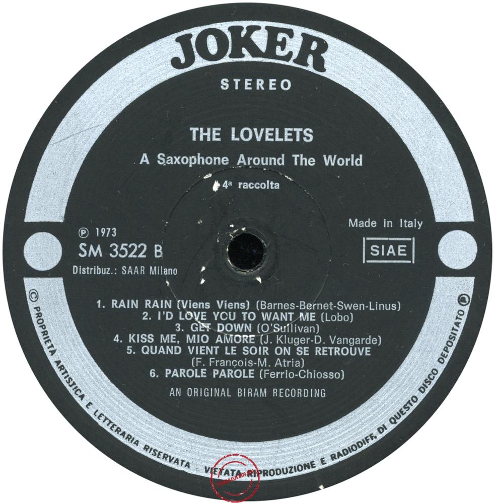 Оцифровка винила: Lovelets (1973) 4a Raccolta
