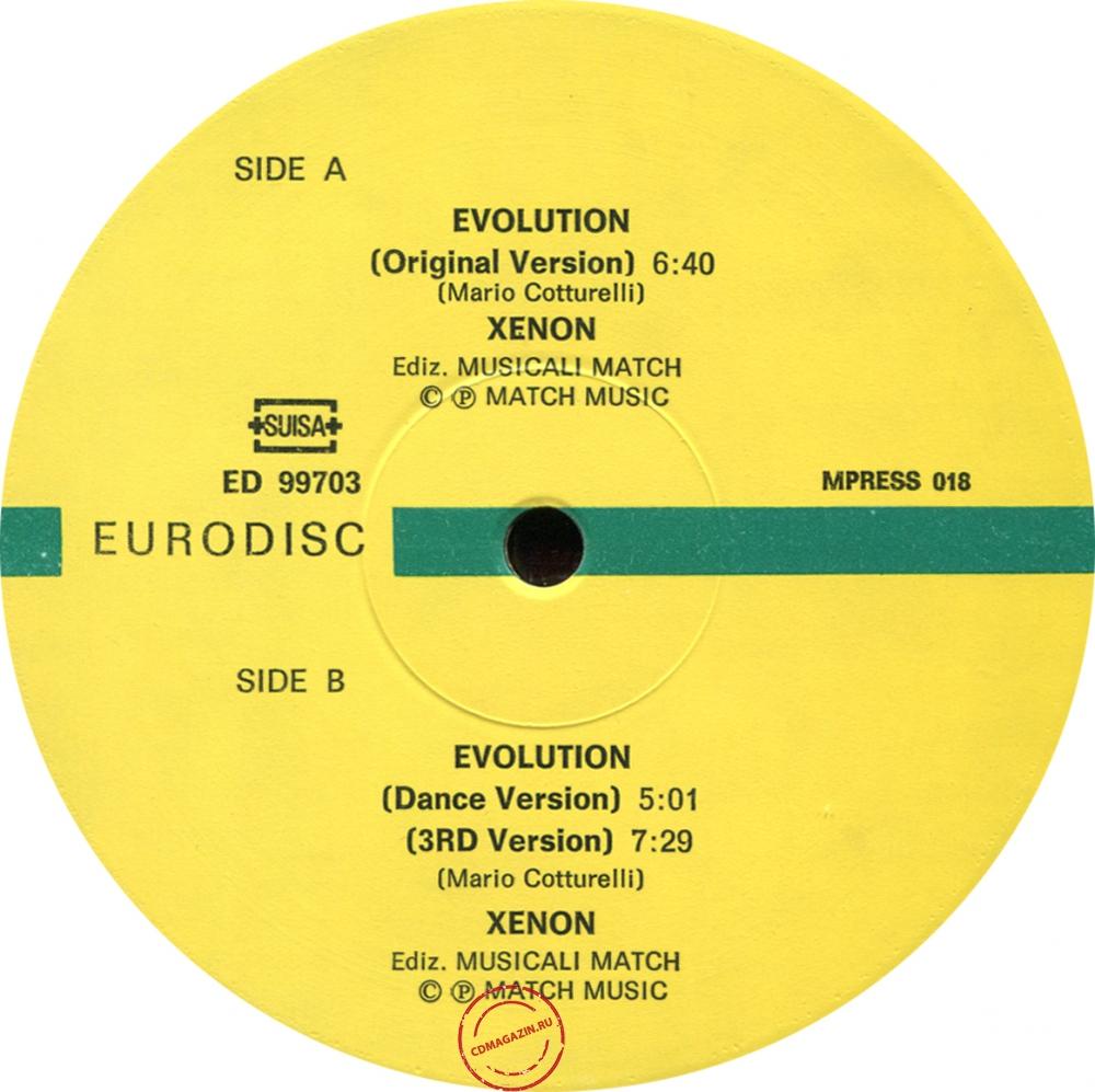 Оцифровка винила: Xenon (1986) Evolution