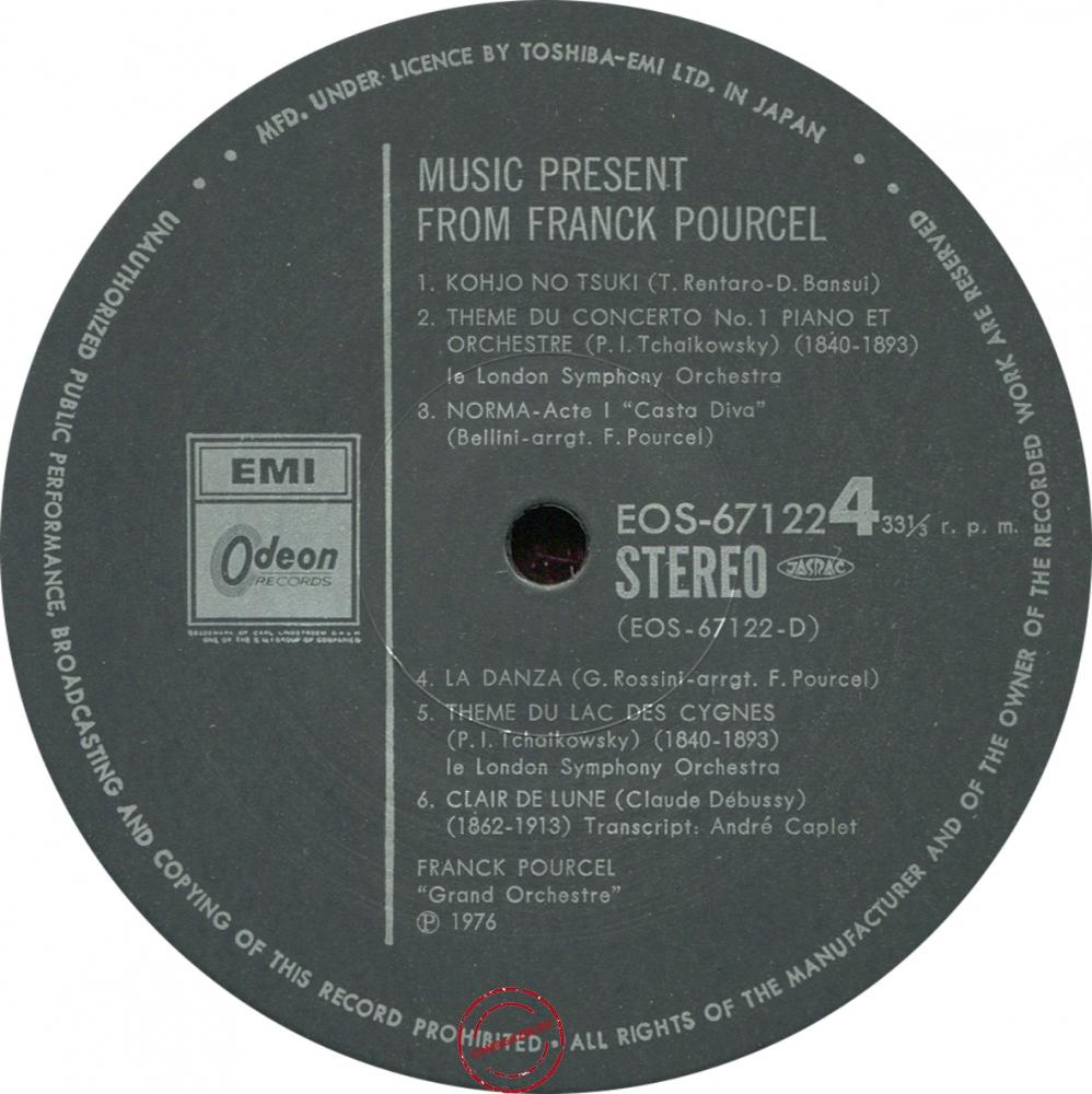 Оцифровка винила: Franck Pourcel (1976) Music Present