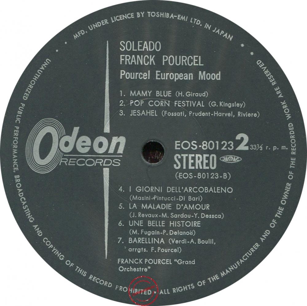 Оцифровка винила: Franck Pourcel (1975) Soleado Franck Pourcel
