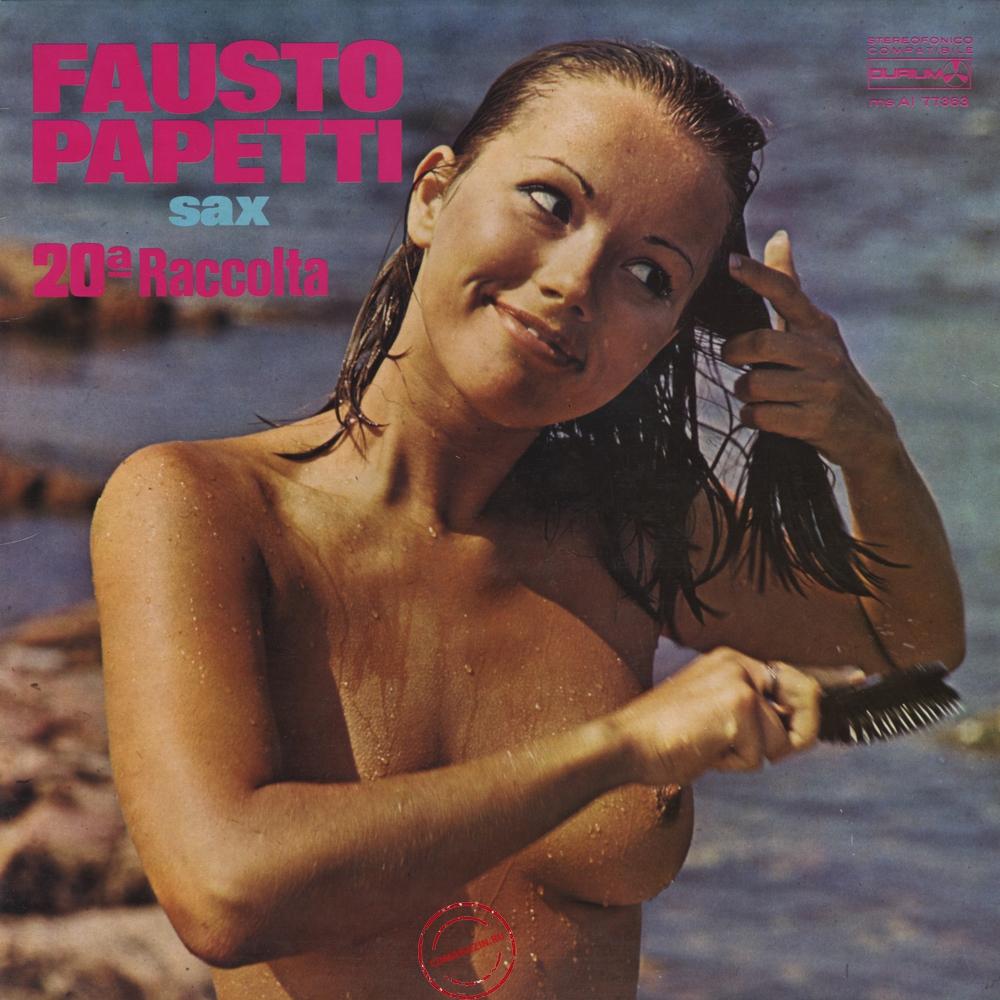 Оцифровка винила: Fausto Papetti (1975) 20a Raccolta