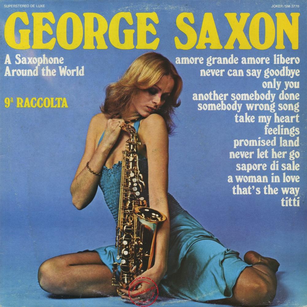 Оцифровка винила: George Saxon (1975) 9ª Raccolta