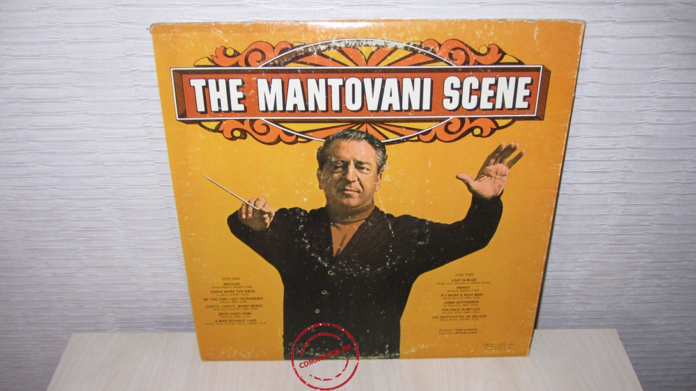 Оцифровка винила: Mantovani And His Orchestra (1969) The Mantovani Scene