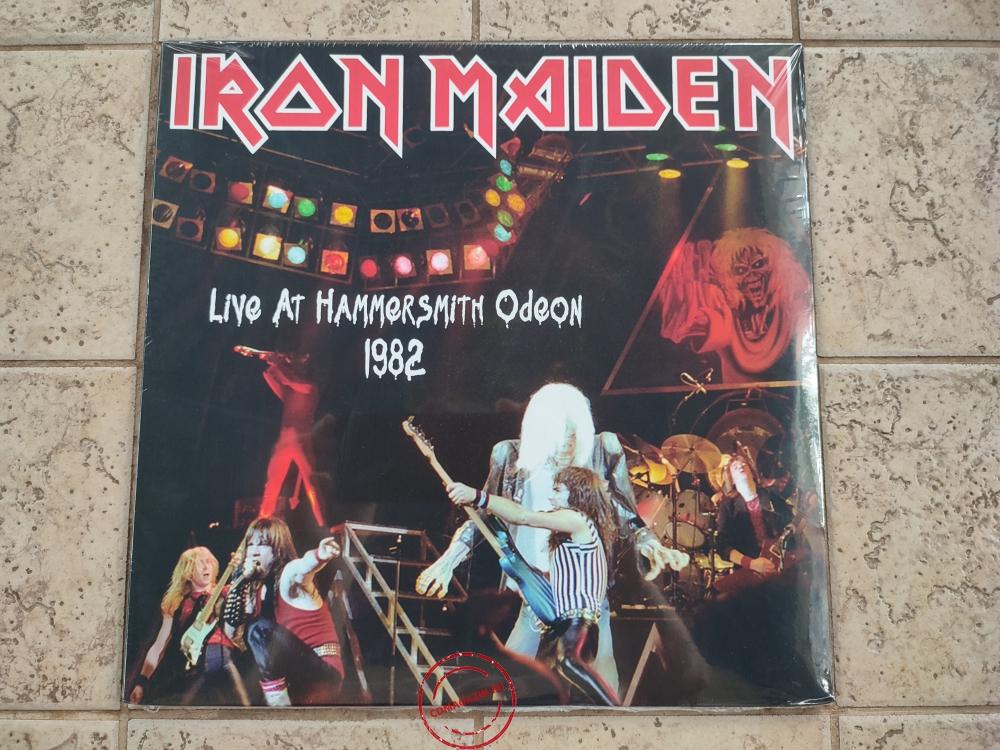 Оцифровка винила: Iron Maiden (1982) Live At Hammersmith Odeon 1982