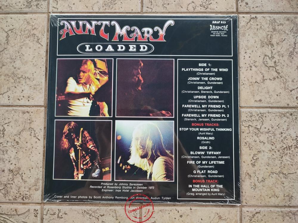 Оцифровка винила: Aunt Mary (2) (1972) Loaded