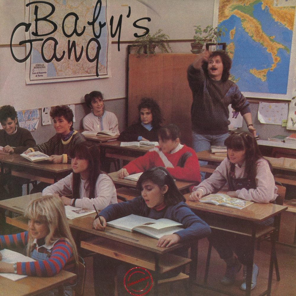 Оцифровка винила: Baby's Gang (1984) Happy Song