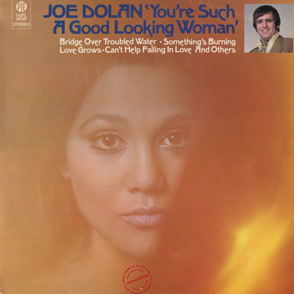 Оцифровка винила: Joe Dolan (1970) You're Such A Good Looking Woman