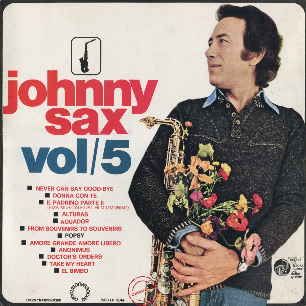 Оцифровка винила: Johnny Sax (1975) Vol/5