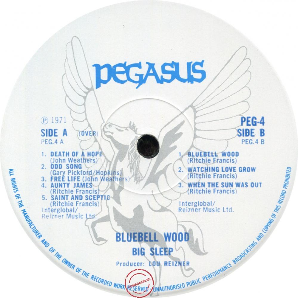 Оцифровка винила: Big Sleep (2) (1971) Bluebell Wood