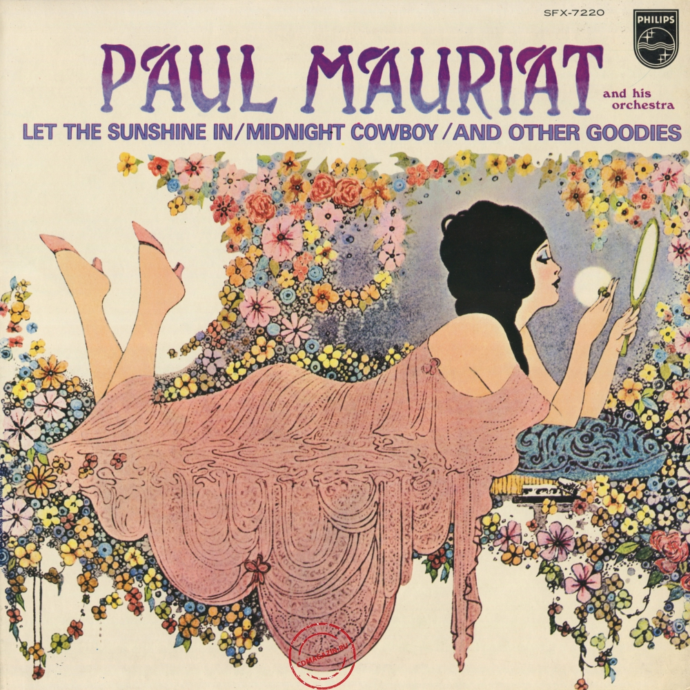 Оцифровка винила: Paul Mauriat (1970) Let The Sunshine In / Midnight Cowboy / And Other Goodies (Isadora)
