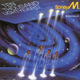 Audio CD: Boney M (1984) Ten Thousand Lightyears